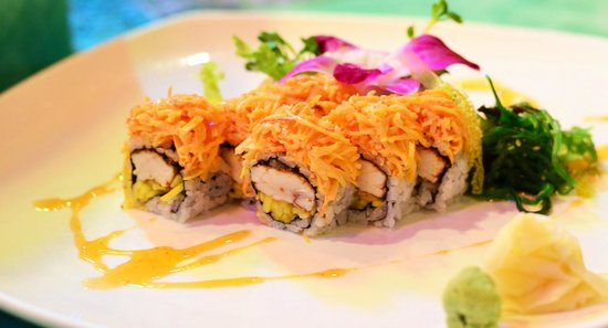 Rice Field's Restaurant: Passion Roll
