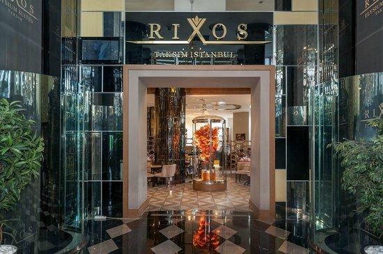 Rixos Taksim Istanbul: Fanus Restaurant Entrance
