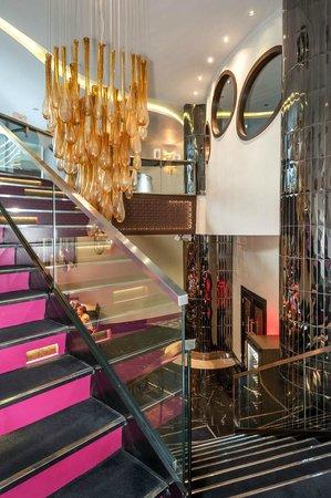 Rixos Taksim Istanbul : Stairs To Lobby