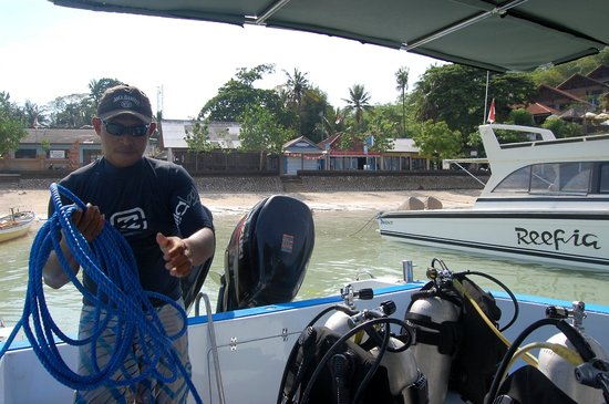 Lembongan Scuba: On board