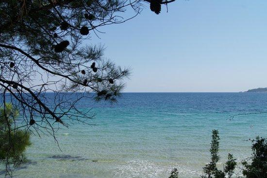Esperides Sofras Hotel & Bungalows: Вид на море