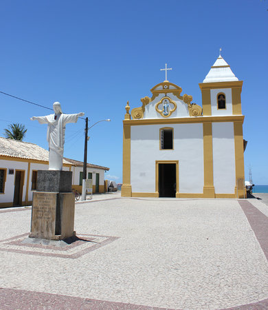 Pousada & Bistro Vilarejo: Arraial d'Ajuda famous church