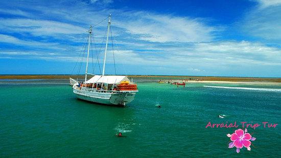 Pousada & Bistro Vilarejo: Beautiful boat trips