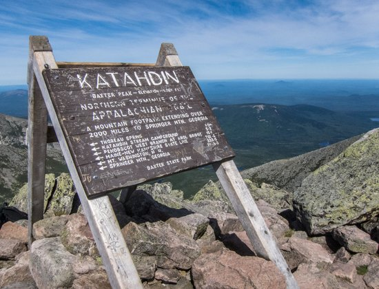 The Young House Bed and Breakfast: View From Katahdin Summit