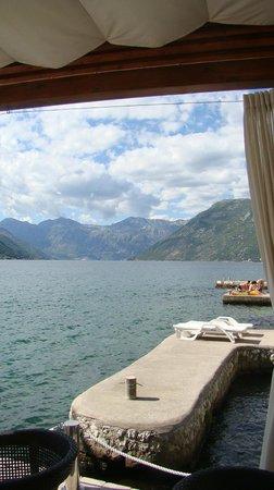 Forza Mare Hotel: baie de Kotor depuis l'hôtel