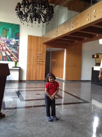 Leisure Inn West Gurgaon: in the lobby
