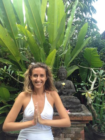 Nirwa Ubud Homestay : il giardino del Nirwa