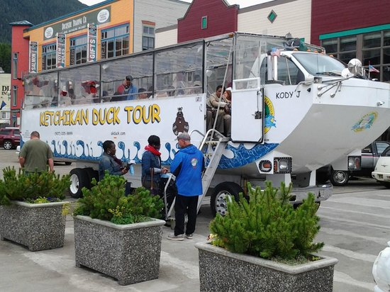Ketchikan Duck Tour: The Duck Mobile