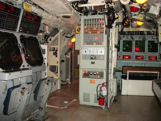 Site historique maritime de la Pointe-au-Pere : La console de tir des torpilles