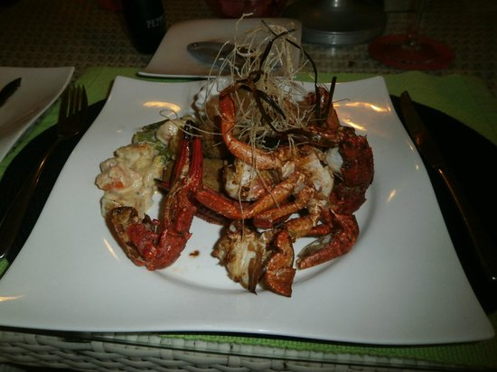 CoCo Bay Unawatuna: voila le style de plat gastro et copieux