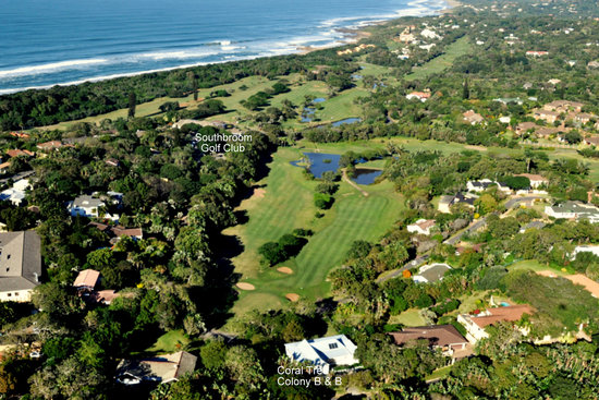 Coral Tree Colony B&B: Southbroom from the air