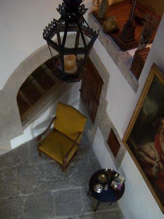 La Tour d'Auriolles : l'escalier renaissance