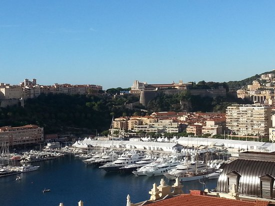 Hotel de Paris Monte-Carlo: The view from our room