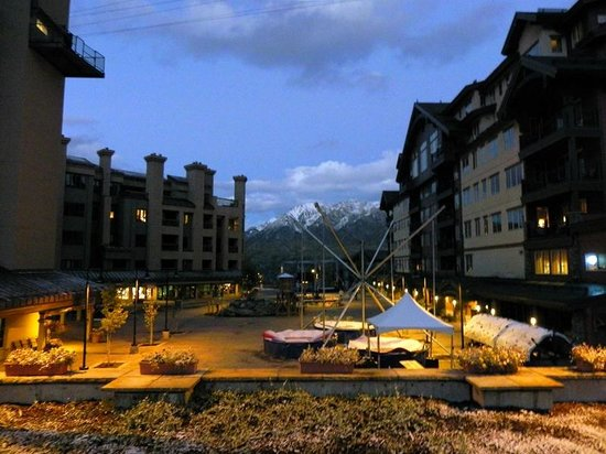 Purgatory Village Condo Hotel: Night Scene -Note Snow on 9/27/13