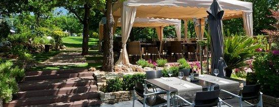 Hotel Aretxarte: terraza