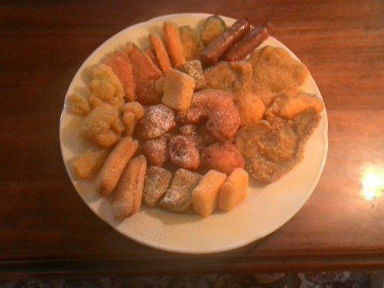Al Girasol: Fritto  misto canavesana su ordinazione