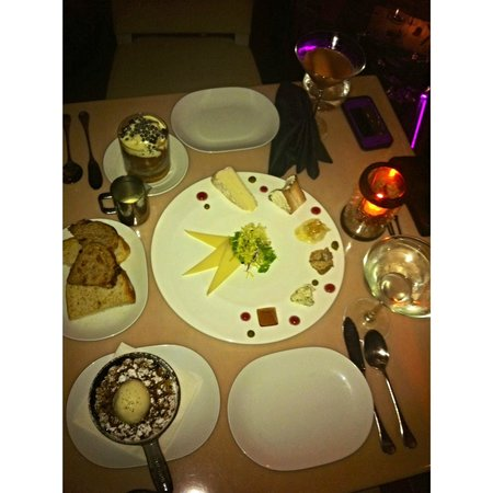 Gotham Steak - Fontainebleau Miami Beach: cheese plate