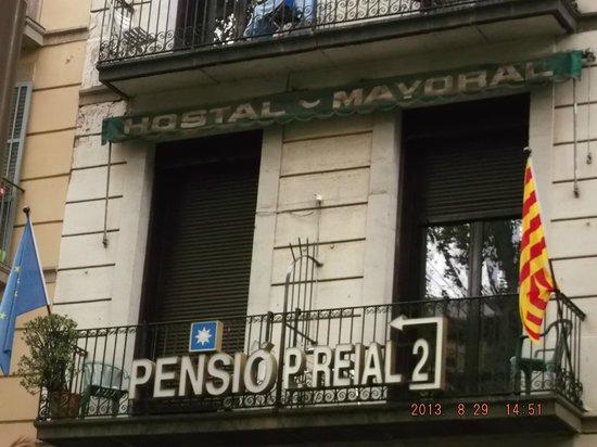Pension Villanueva: vista dall'esterno
