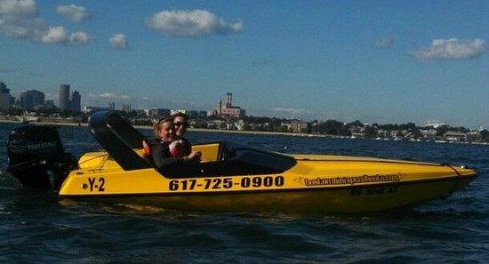 Boston Harbor Mini Speed Boats, Inc.: Mini speed boating on the Boston harbor