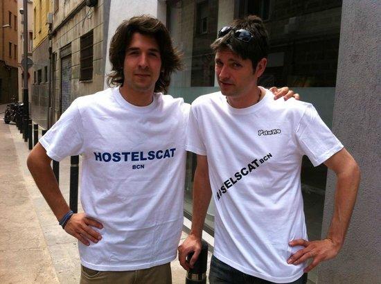 Hostelscat BCN: Jordi i Panxo