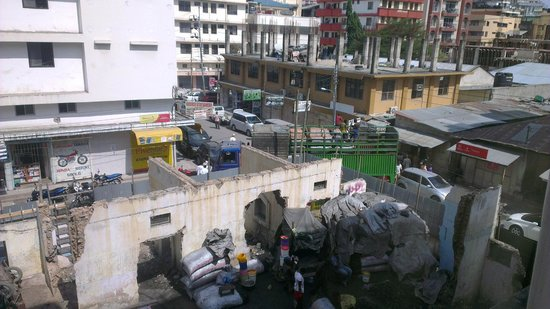 Juba Hotel: Picture from window