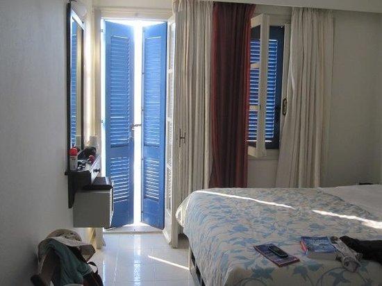 Windmill Naxos: la stanza
