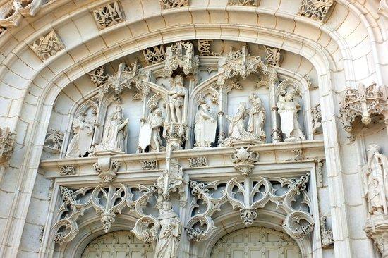 Monastere Royal de Brou : La grande porte