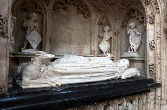 Monastere Royal de Brou : Le tombeau de Marguerite de Borubon