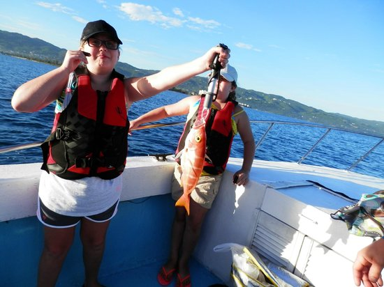Got one picture of deep drop fishing charters montego for Jamaica fishing charters