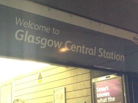 Rennie Mackintosh Station Hotel : Hotel next to Glasgow Central Station