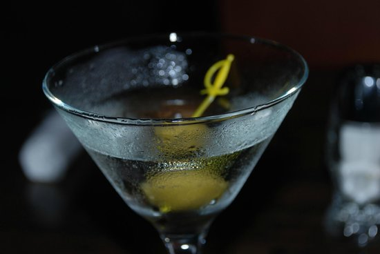 Wicked Grill: Awesome gin martini