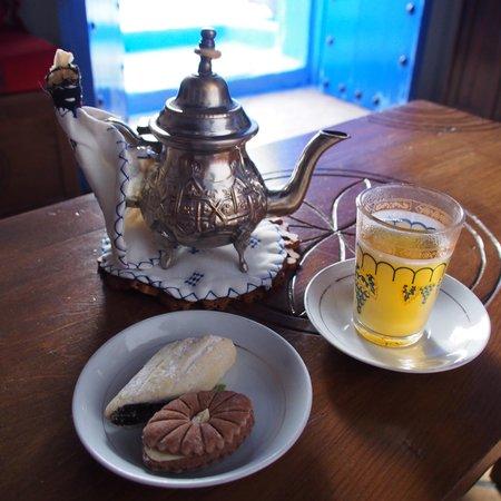 Casa Perleta: Mint tea