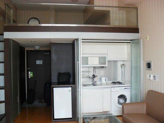 Provista Hotel: Cocina + zona superior