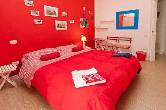 Mistral Marina Piccola B&B: stanza rossa - red room