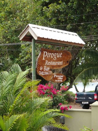 Pirogue Lodge : la pirogue