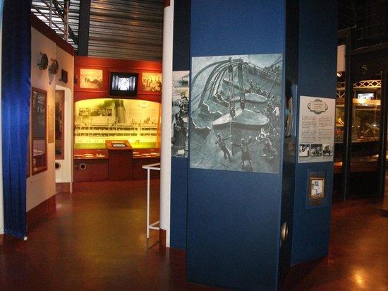 Site historique maritime de la Pointe-au-Pere : Le musée maritime, *Empress of Ireland*