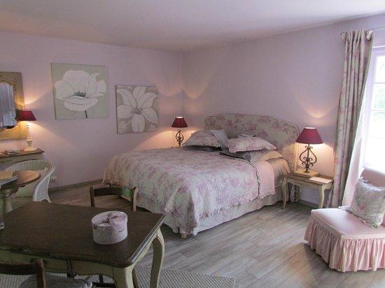 Ingouville, France: chambre parme