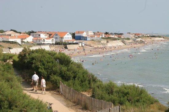 La plage de la par e photo de bretignolles sur mer - Les sables d olonne office de tourisme ...