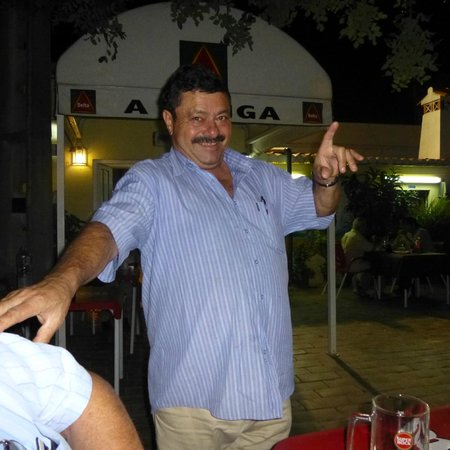 Restaurante A Canga: Pedro at his best