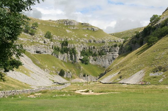 Malham, UK: Gordale Scar