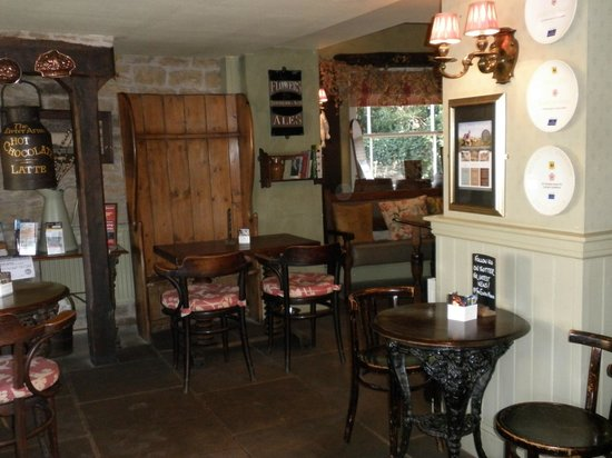 The Exeter Arms : By the fire in  the bar