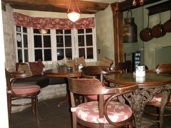 The Exeter Arms : Best table in the bar area