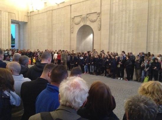 Ariane hotel : last post at the memorial