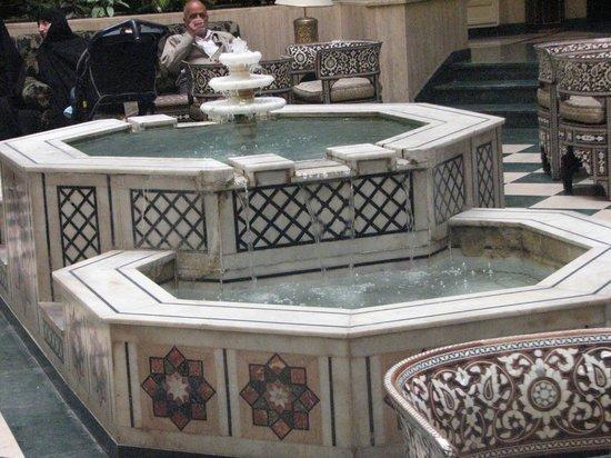Cham Palace Damascus : lobby