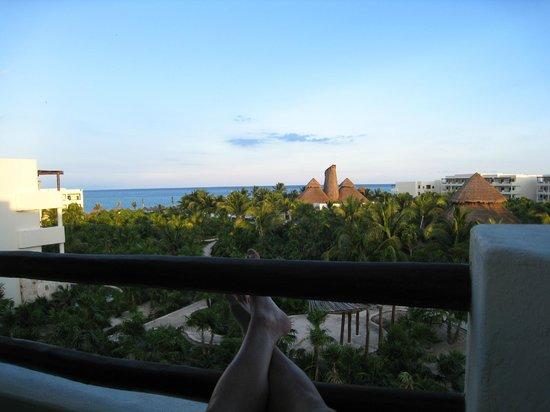 ซีเคร็ทส์โมราม่าบีช รีเวียร่า แคนกุน: View from 4th floor Ocean View Junior Suite