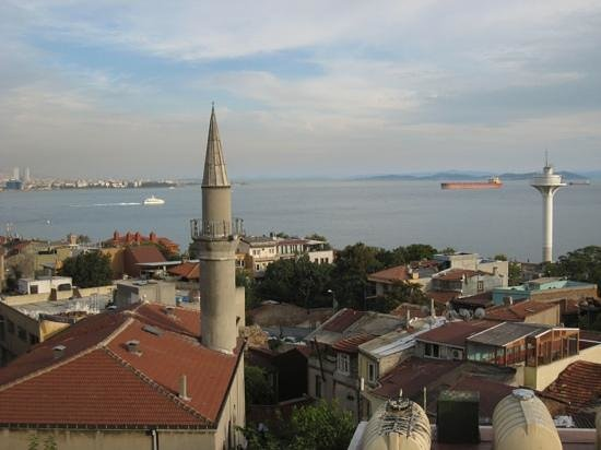 Dersaadet Hotel Istanbul: View from our room