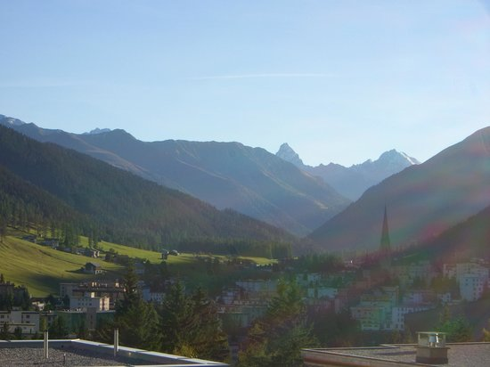 Hotel-Pension Alpina: Great view from balcony