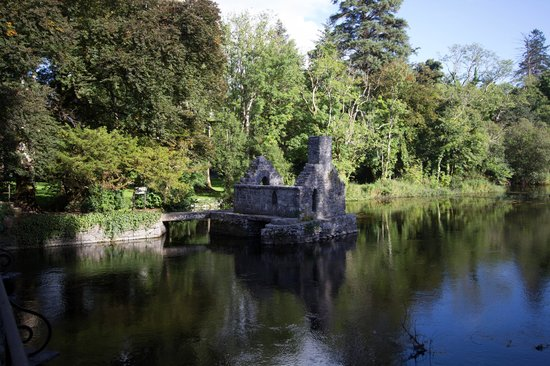 Ashford Castle: ruins