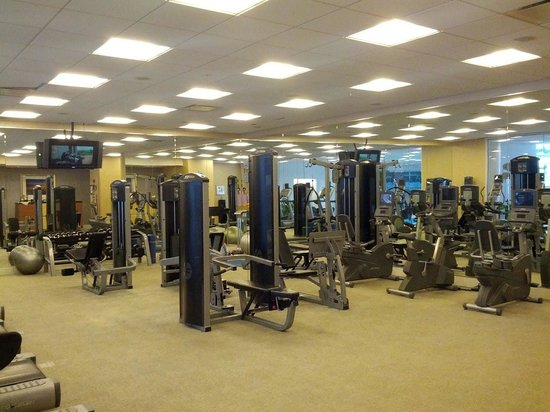Renaissance Schaumburg Convention Center Hotel: Gym