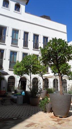 Hotel Palacio de Villapanes : PATIO